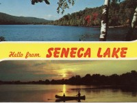 two views of Seneca Lake