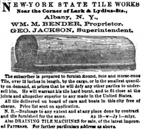 Ad-for-Albany-tile-works-in-1858-Cultivator-magazine