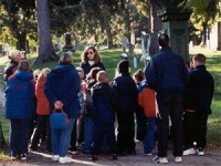 Cemetery Stories School Program at Washington Street Cemetery
