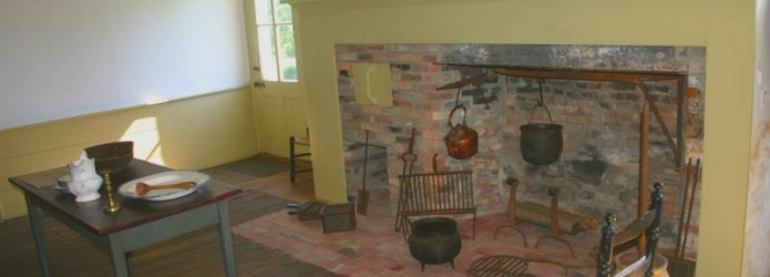 The Kitchen of the Johnston House
