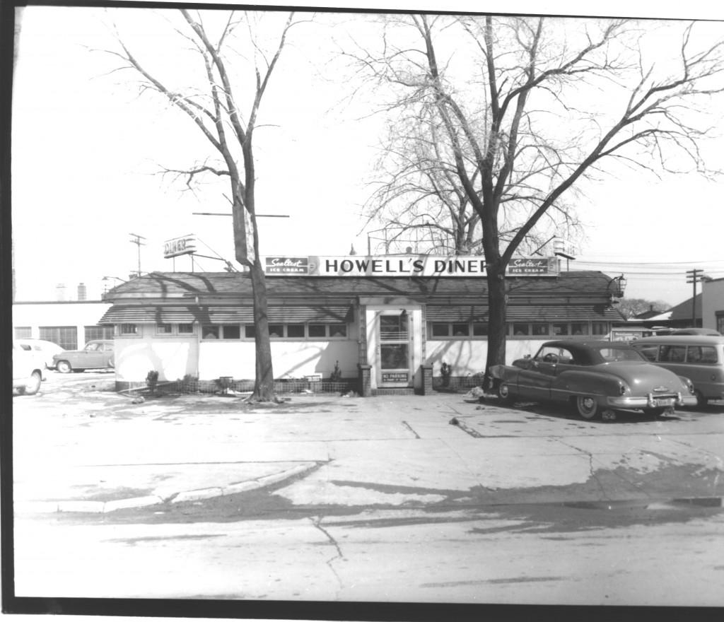 Texaco Diner exterior