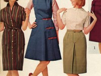 1960s-catalog-of-teen-clothing-showing-models-in-dresses-and-skirts
