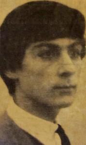 Sepia image of Joey Shahum