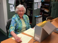 volunteer-barbara-lamb-works-in-the-archive