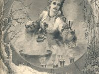 a woman serving punch