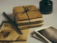 antique-pen-book-and-letters