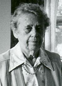 head shot of an older woman