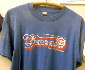 Blue T Shirt With Geneva Cubs Team Logo