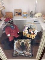 An assortment of bear themed items