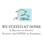 Outline of a house. We Stayed At Home: A Record of Geneva During the COVID-19 Pandemic