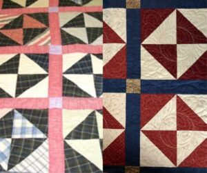 Two Quilts Together